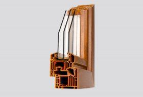 Perfil ventanas PVC