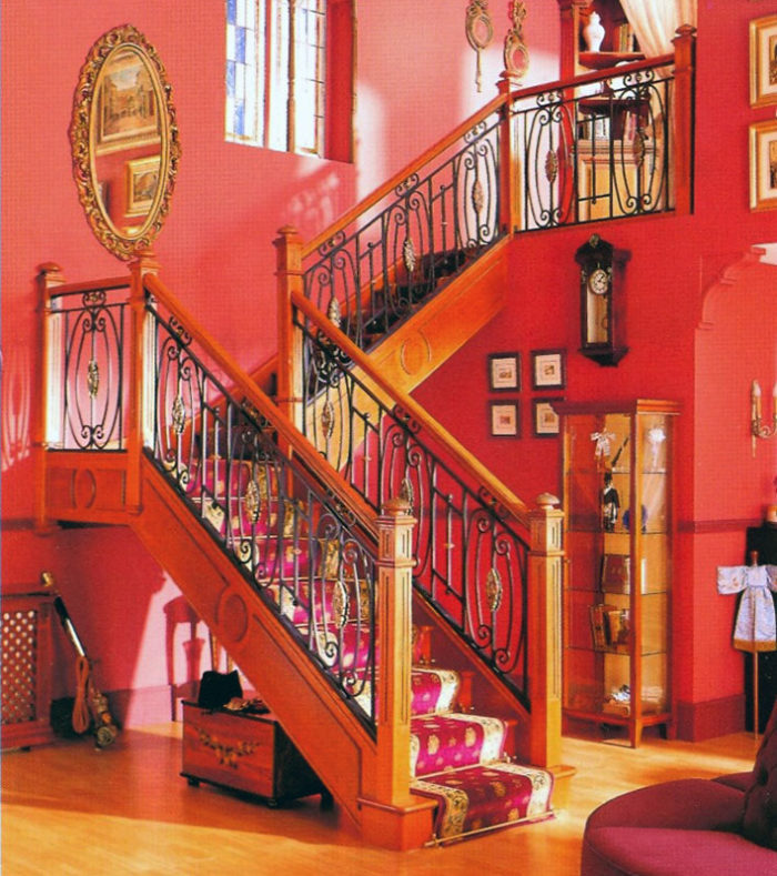 Escalera de madera 8 garma milenium for Muebles megapark