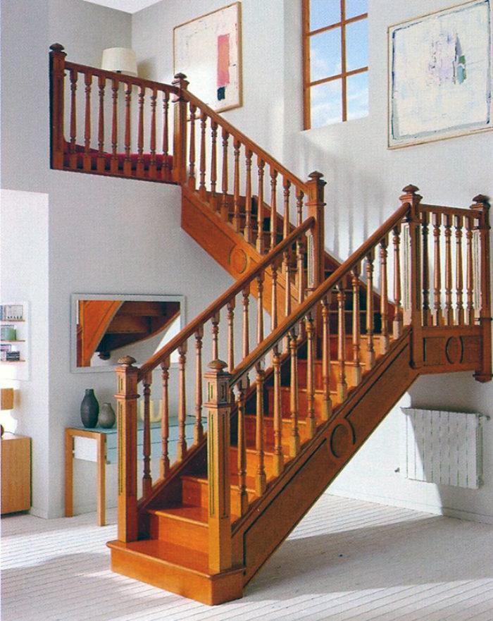 Escalera de madera 5 - Garma Milenium