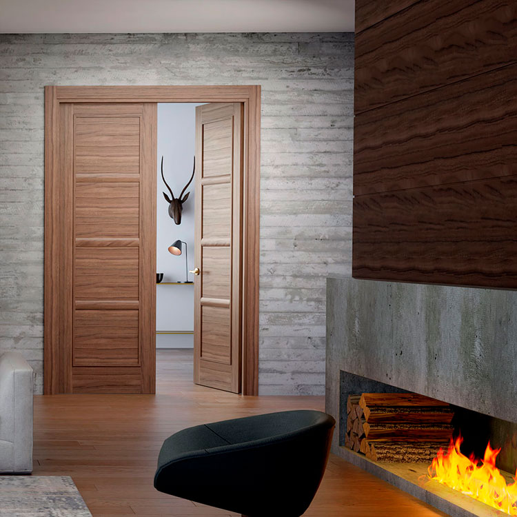Puerta de interior clásica 104