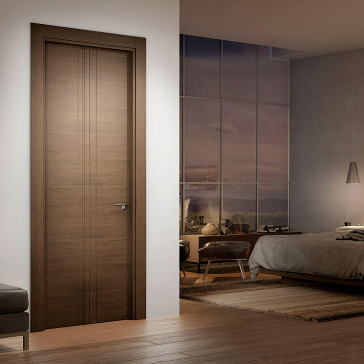 Puerta de interior contempor nea 750 garma milenium for Muebles megapark