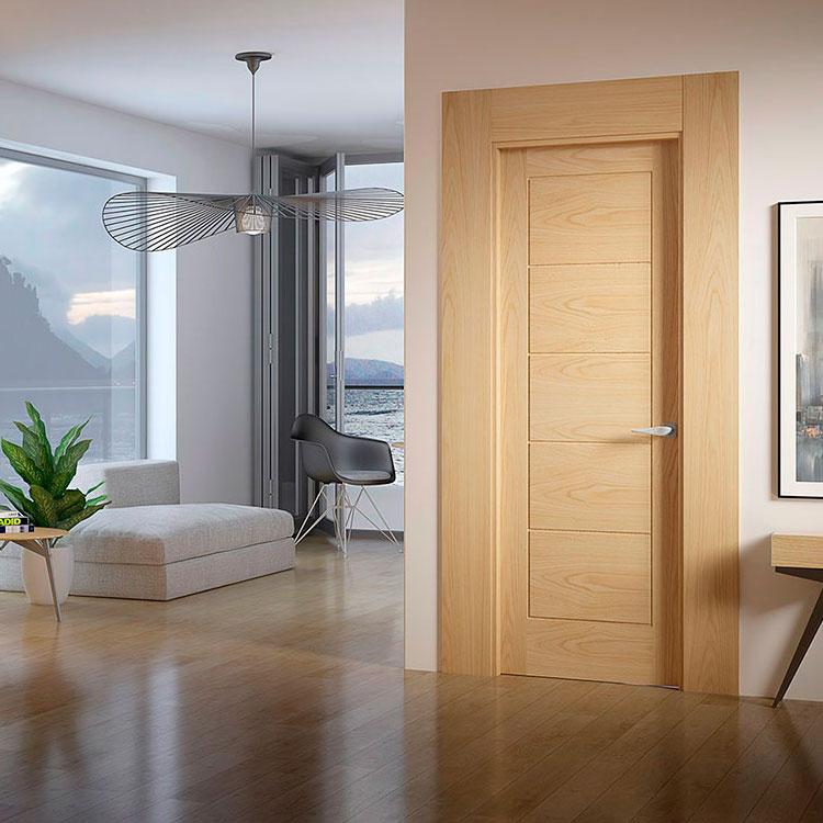 Puerta de interior contempor nea d5 garma milenium for Muebles megapark