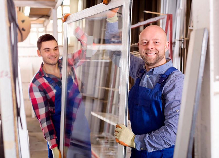 instalación de ventanas y cerramientos PVC en Madrid
