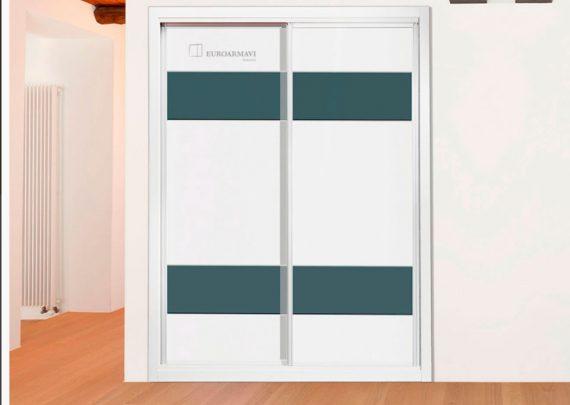 Frentes y forrados de armario garma milenium - Ajustar puertas armario ...