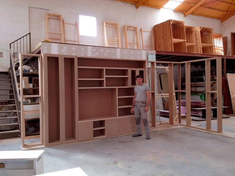 Carpinter a de madera garma milenium for Muebles megapark