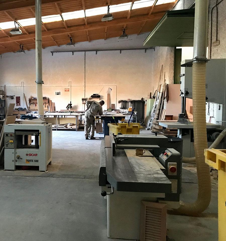 Taller de carpintería Madrid