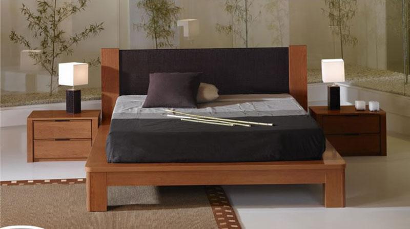 Muebles de madera dormitorio