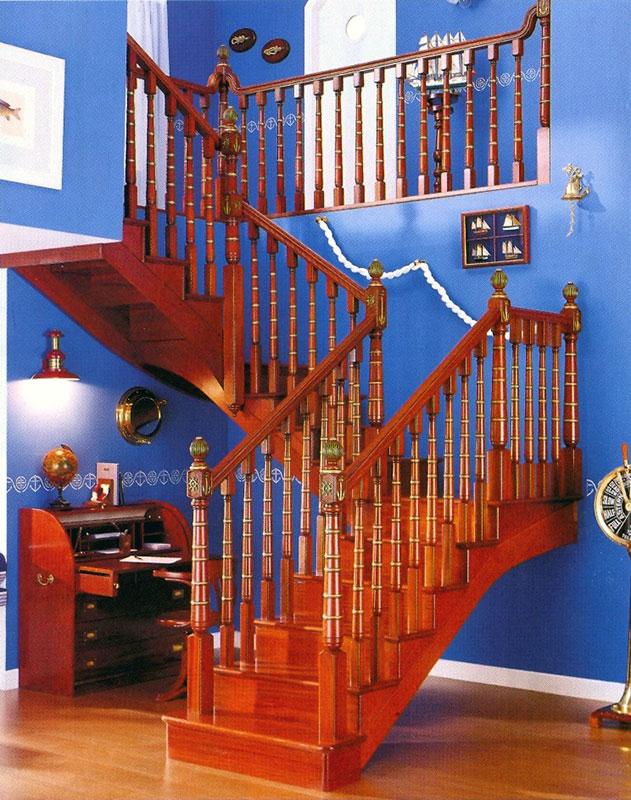 Escalera de madera 2 garma milenium for Muebles megapark