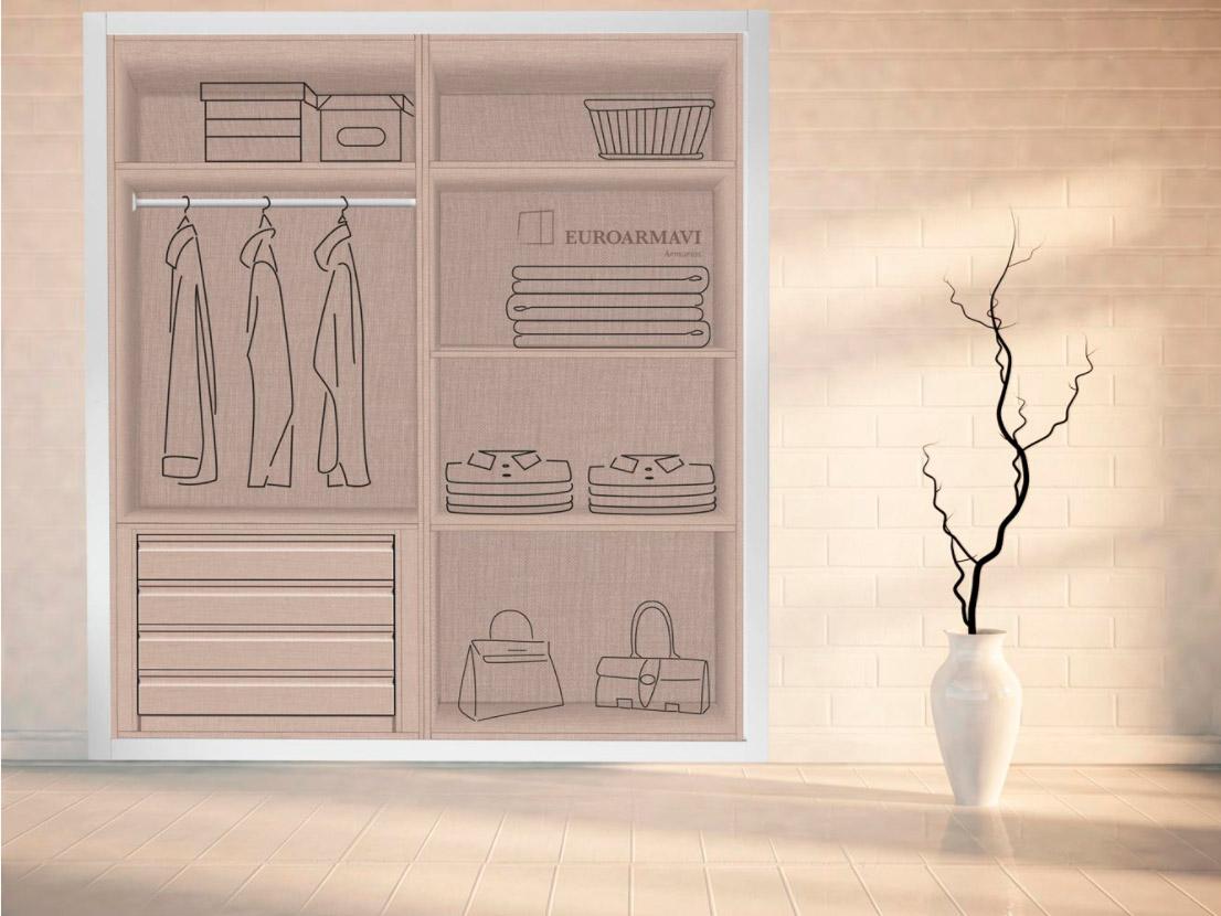 Interior armario 2 módulos