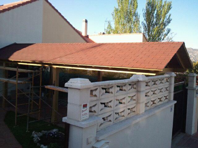 Pérgolas de madera Madrid