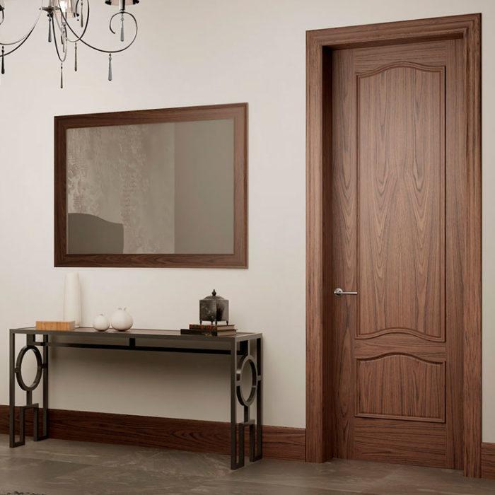 Puerta interior cl sica 253x garma milenium for Muebles megapark