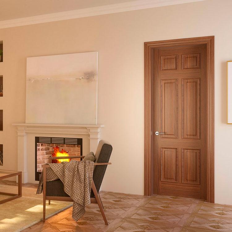 Puerta de interior cl sica 460x garma milenium for Muebles megapark