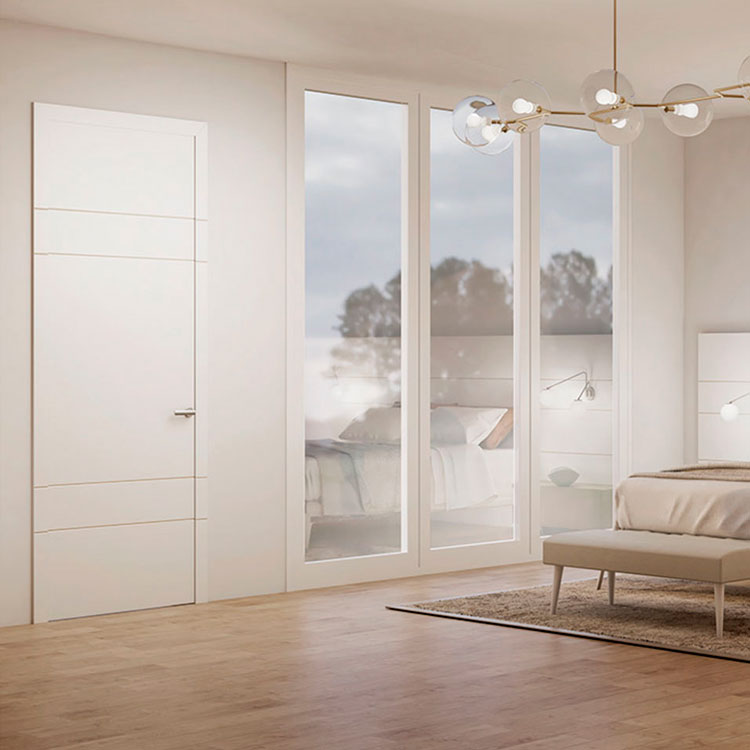 Puerta de interior contempor nea 9074 garma milenium for Muebles megapark