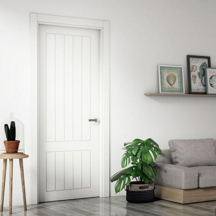 Puerta interior lacada 9600