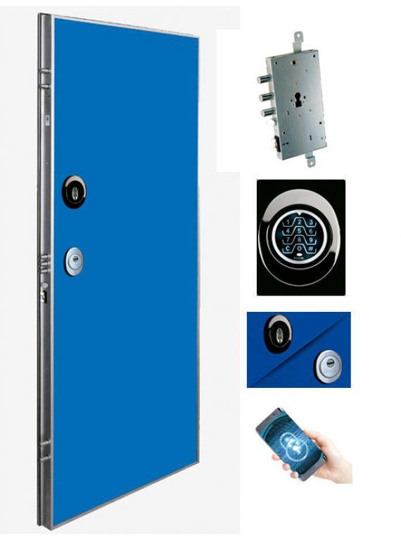 Puerta de seguridad electónica