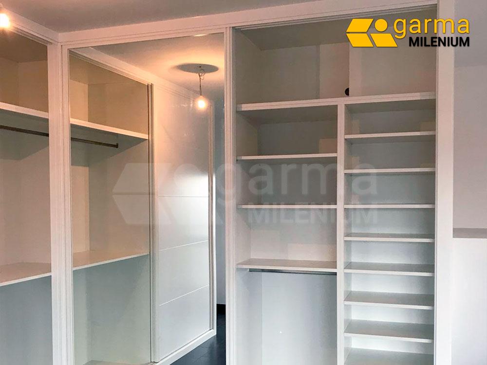 Frentes de armario lacados