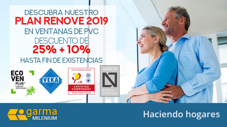 Renovación ventanas PVC Madrid