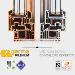 Ventanas PVC 82 certificadas