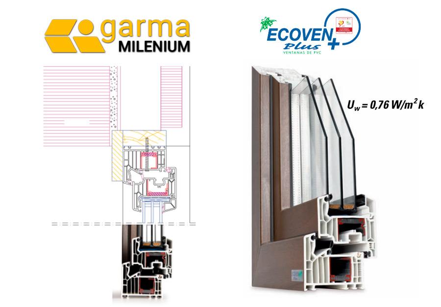 Ventanas PVC Ecoven plus certificado Passive_house