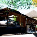 ampliación vivienda sostenible de madera y PVC